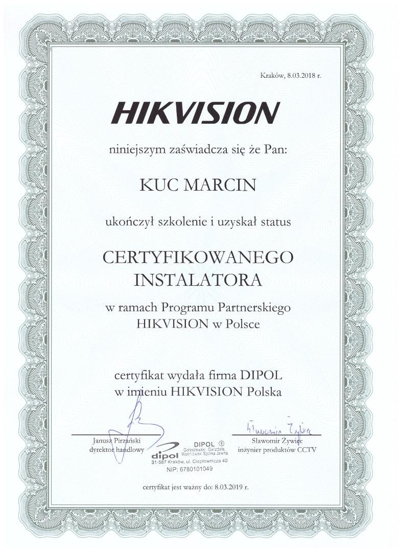 HIKVISION Marcin Kuc