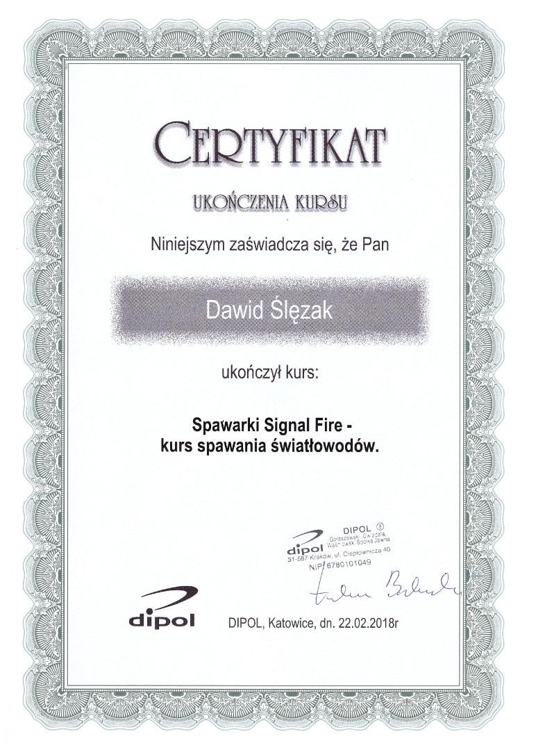 Dipol Dawid Ślęzak